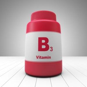 vitamin b3 bottle