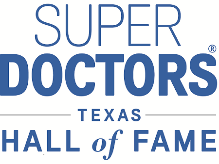 Award: Super Doctors Texas Hall of Fame