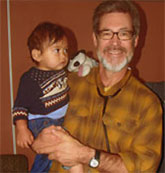 Dr. Ramsdell with child