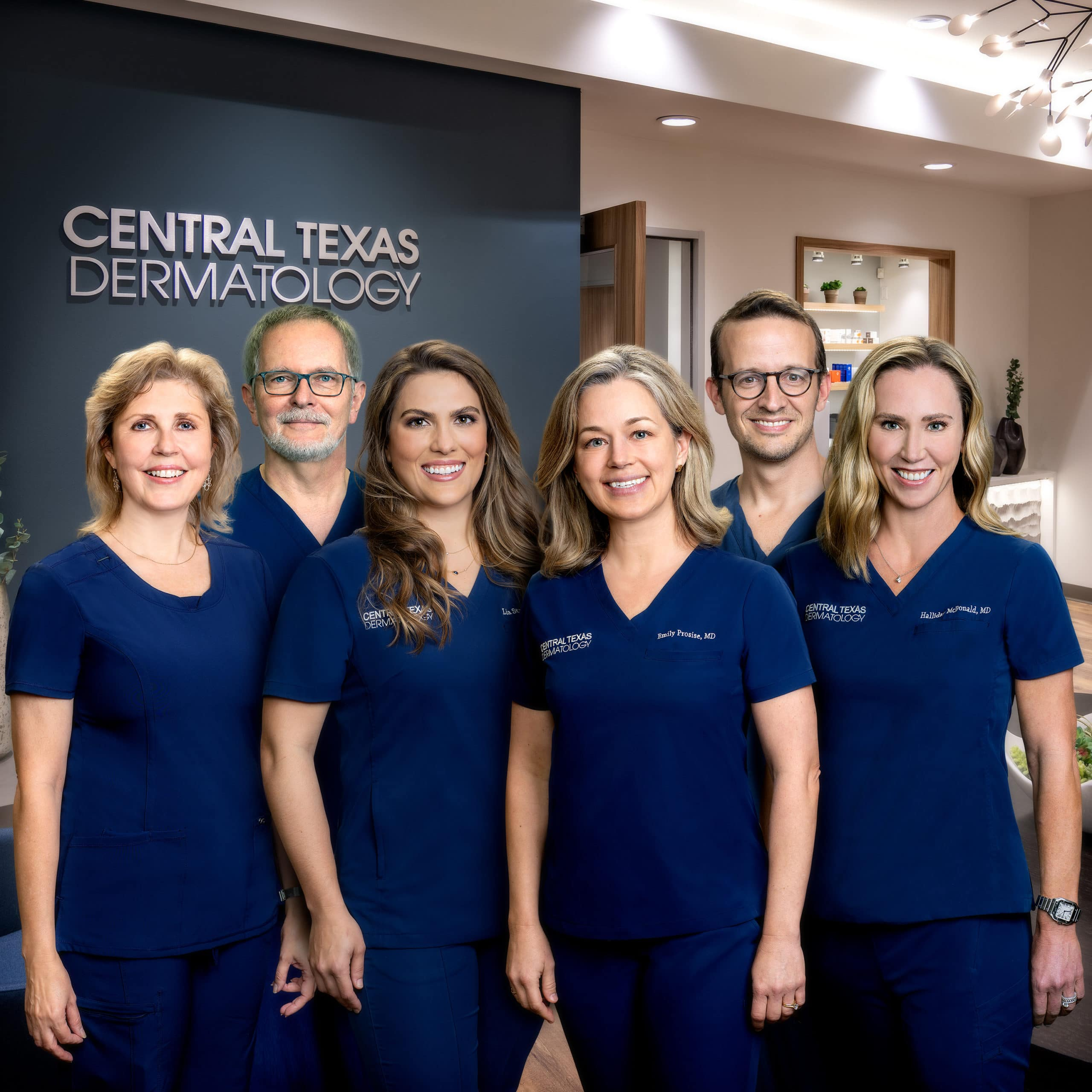 Central Texas Dermatology Staff Photo